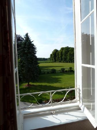 Chateau de Saulty : garden