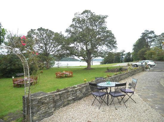 The Red Door Country House: View from the hotel to Lough Swilly