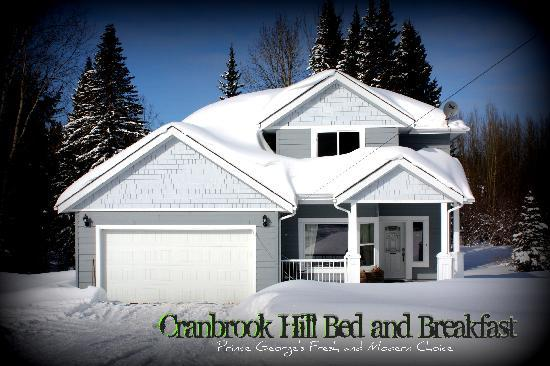 ‪‪Cranbrook Hill Bed and Breakfast‬: Bed and Breakfast in Winter‬