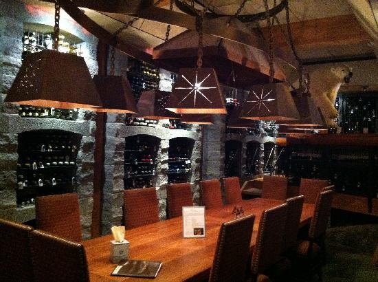 Sun Mountain Lodge: Private dining room