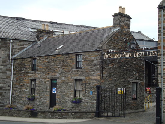 Kirkwall, UK: Highland Park Distillery