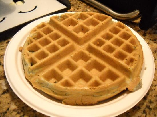 Comfort Inn Conference Center: make-your-own waffle breakfast