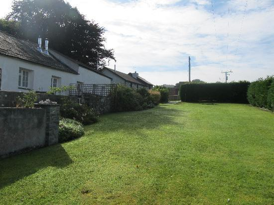 The Lawn Area Leading Upto The Swimming Pool Behind Our Cottage L Picture Of Bamham Farm