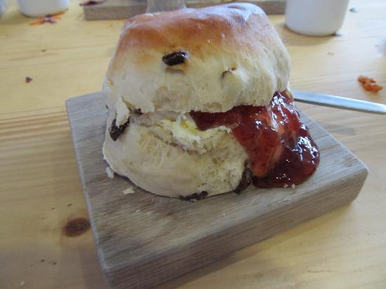 Bamham Farm Cottages: Cream Tea at The Eden Project.