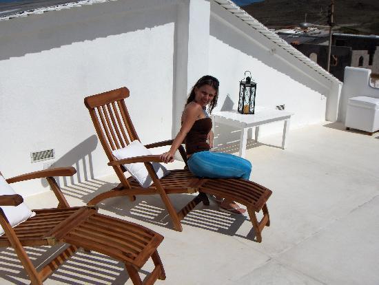 Villa Caracol: en la terraza