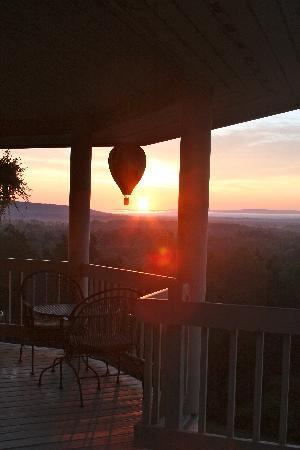 Sunrise at West Winds Inn 2
