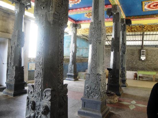 The Beautiful Pillars Picture Of Sita Temple Nuwara