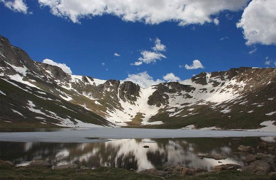 Mount Evans Scenic Byway :                   Summit Lake