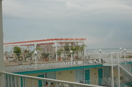Aqua Beach Resort Roof Top Hammocks