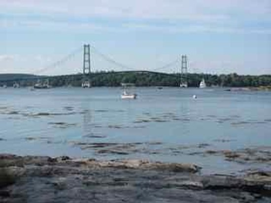 Little Deer Isle, Мэн: View of Eggemoggin Reach near The Red House