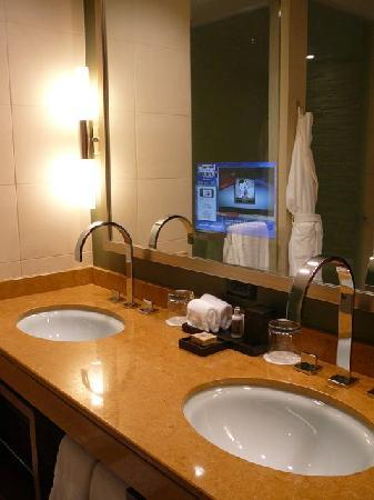 No Expense Was Spared In The Bathroomnote The TV In The Mirror Mesmerizing Bathroom Fixtures Denver