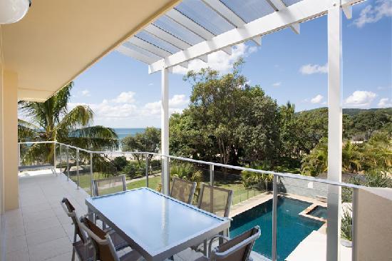 Maison Noosa - Luxury Beachfront Resort: View from 2 Bedroom Beachfront Apartment