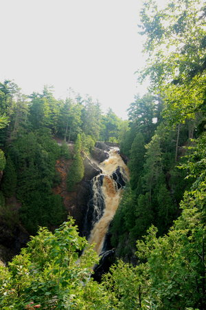 Superior, WI: Big Manitou Falls