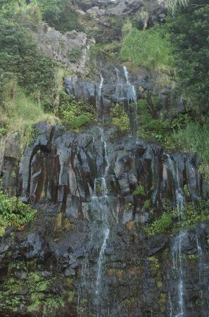 Blue Pool : Helele'ike'oha Falls