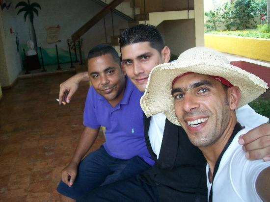 Gran Caribe Villa Tortuga: staffs sympathique