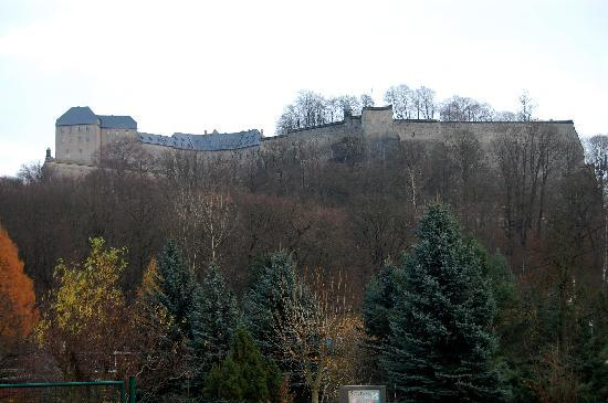 Koenigstein, Germany: View from parking lot