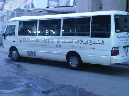 Elaf Alsud Hotel: Hotel shuttle bus