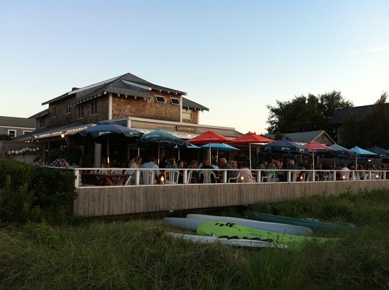 Fine Dining On Fire Island Review Of Maguire S Bay Front Restaurant Ocean Beach Ny Tripadvisor