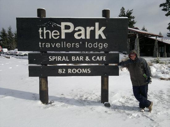 The Park Hotel Ruapehu: The Park, National Park, after a heavy snowfall