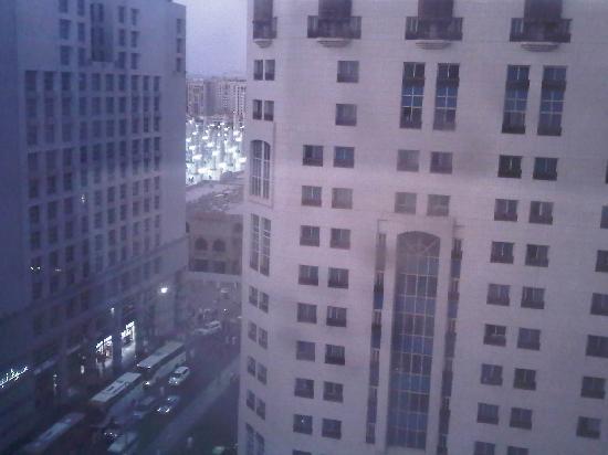 Elaf Al Huda Hotel: View from window