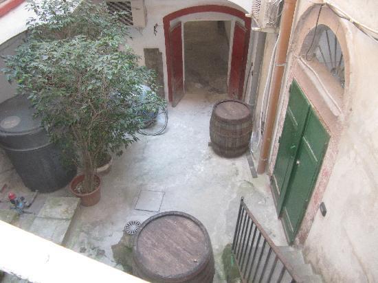 Sa Balza : Piccolo cortile d'ingresso