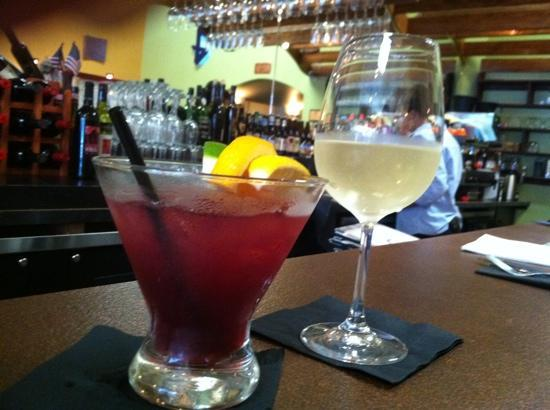 Graham's Grille: Delicious libation to go with a wonderful meal!