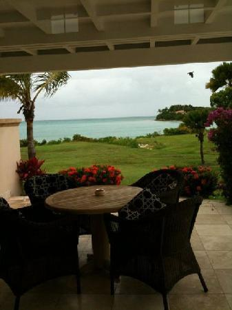 Jumby Bay, A Rosewood Resort: The view from room 45