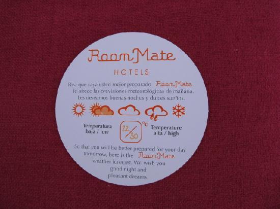 โรงแรมรูมเมท เอ็มมา: Thanks
