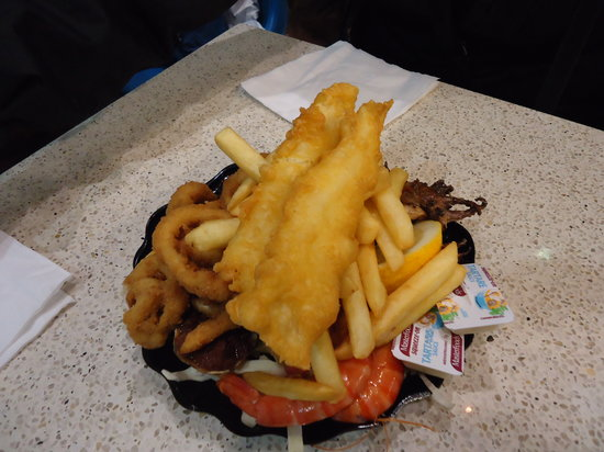 Peter's Fish Market: Sea food platter pour une personne