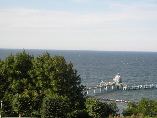 Hotel Seeschloss Sellin: Seebrücke mit Tauchgondel