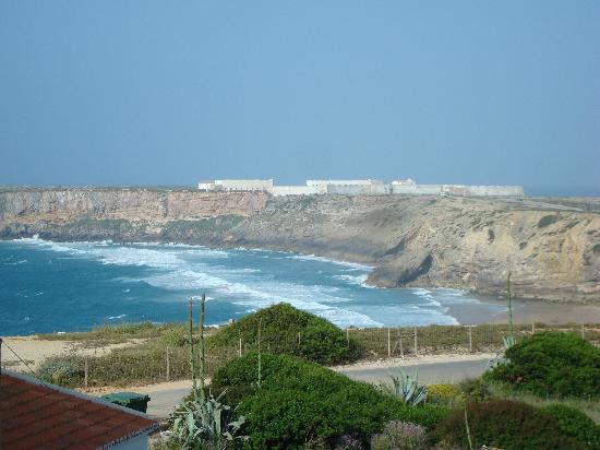 Aparthotel Navigator: Blick vom Hotel zum Fortaleza de Sagres