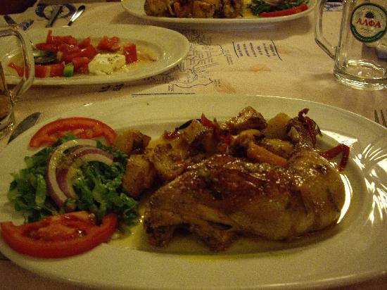 Garden Restaurant : mmm, chicken lemon