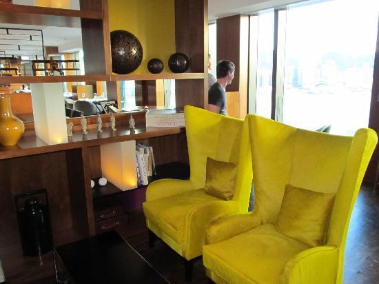 Hotel ICON: Club lounge