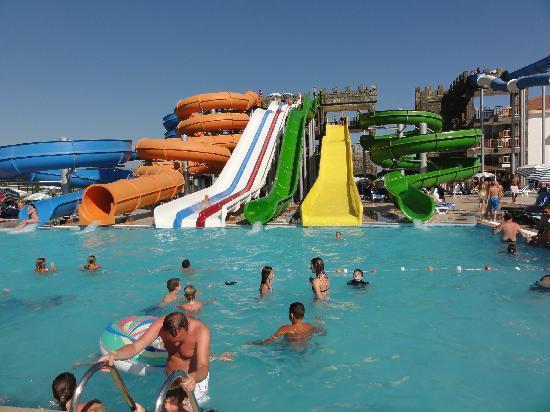 Eftalia Aqua Resort: The slides!