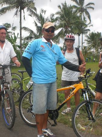 Bali Bintang Tour: our guide jack