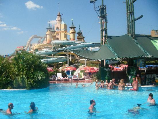 SENTIDO Marina Suites- Adult Only: aqua fantasy, more slides on other side!