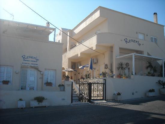 Reverie Santorini Hotel: Esterno