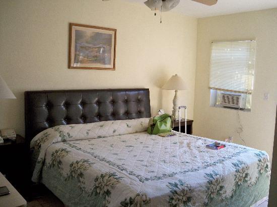 Seashell Motel: letto comodo