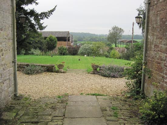 Cools Farm: View from the front door
