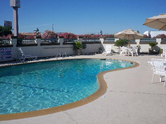 BEST WESTERN PLUS Inn : the pool with the highway nearby