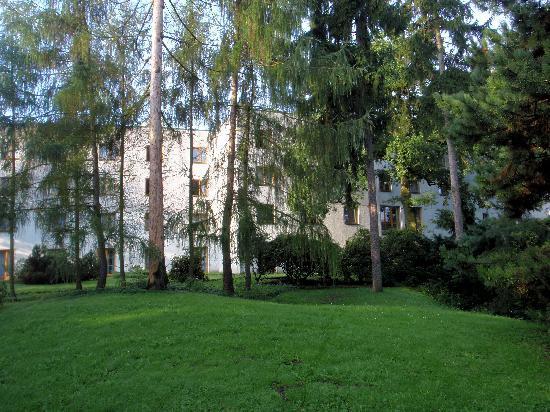 Club Hotel Praha: Hotel - Hinteransicht