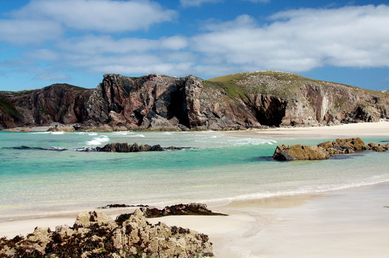 Isle of Lewis, UK : A Stunning Beach