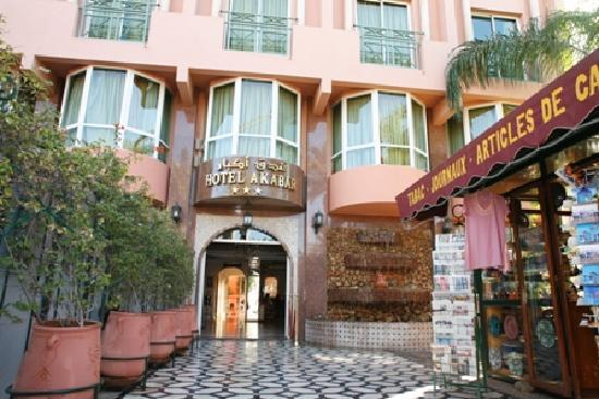 Hotel Akabar: c'est l'entrée de l'hotel