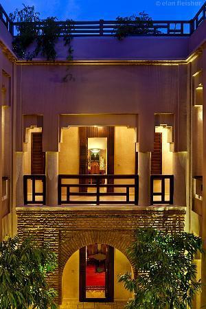 Villa Makassar: patio