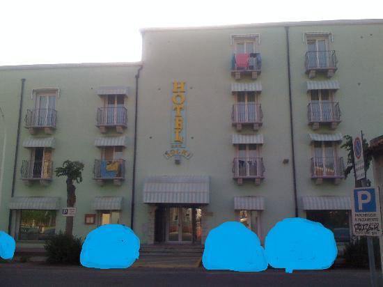 Hotel Solki: facciata dell'albergo
