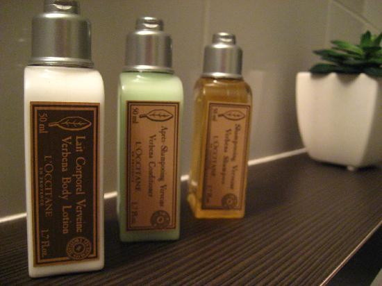 Blackwattle Luxury Retreats: L'Occitane toiletries!