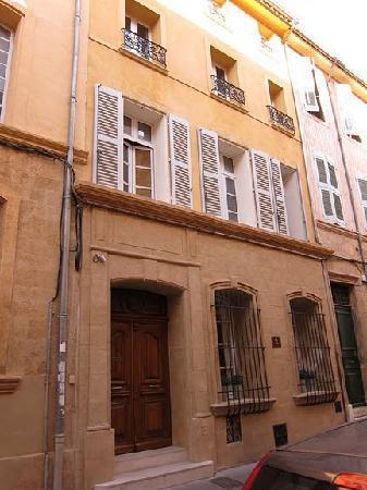 La Maison d'Aix: Hotel entrance