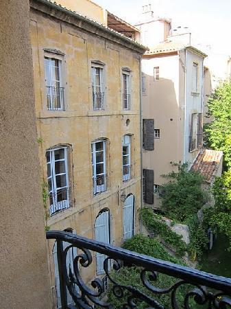La Maison d'Aix : view from our window