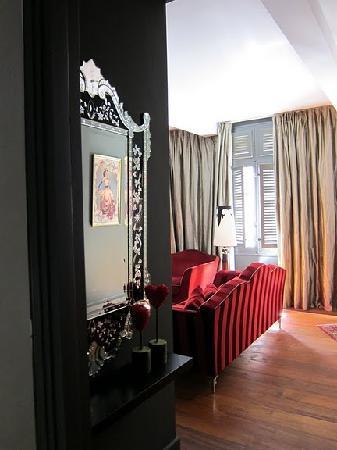 La Maison d'Aix : living room