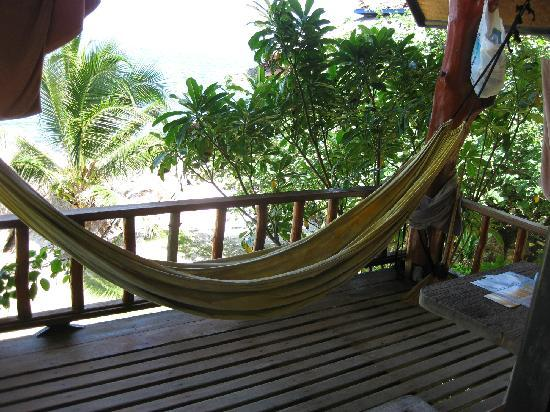 Lucky Resort: our hammock...love it:))
